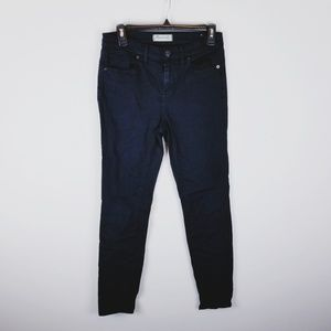 Madewell high riser skinny jeans navy blue size 27